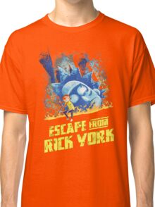 Rick and Morty Escape From Rick York Classic T-Shirt