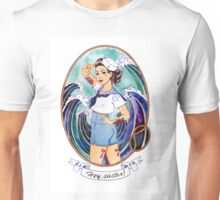 """Hey sailor!"". Pin-up girl;-) Unisex T-Shirt"