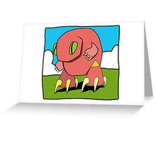 geckobot Greeting Card