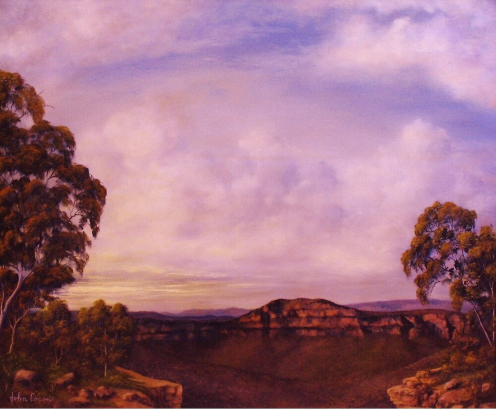THE BLUE MOUNTAINS by John Cocoris