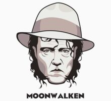 "Christopher Walken - ""Moonwalken"" Kids Clothes"