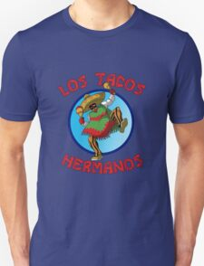 Los Tacos Hermanos! - Funny Cartoon T-Shirt