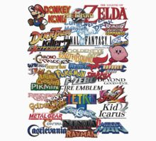 Retro Nintendo Titles  by AnimeLord