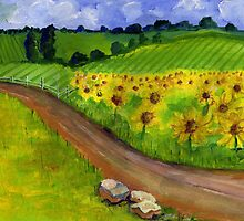 And there were sunflowers ... by Elizabeth Kendall