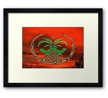 The Dawn of the Celtic Tree of Life No12 Framed Print