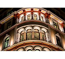 Nightly Facade Photographic Print