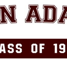 John Adams High - Class of 98 (Sticker) Sticker