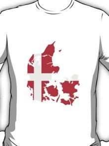 Denmark Danmark Flag T-Shirt