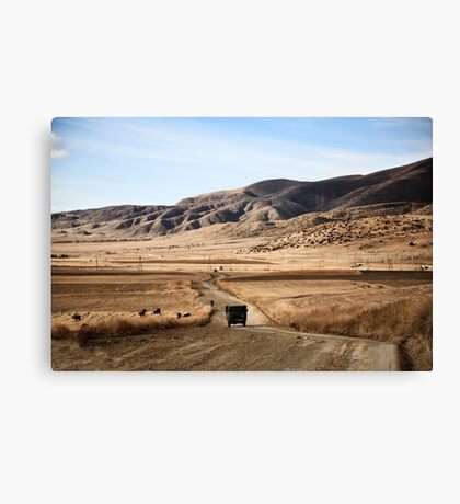 rural armenia Canvas Print