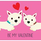 Be My Valentine – Westies by BonniePortraits