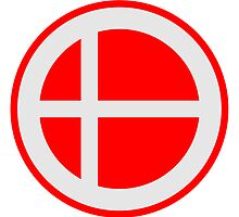 Denmark Circle Flag Design by Style-O-Mat