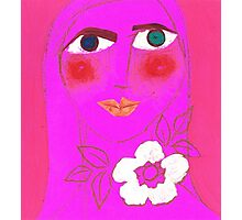 Persephone, Pretty in Pink Photographic Print