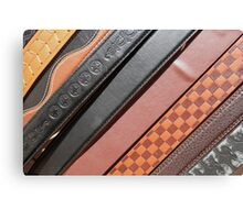 Decorated Belts Canvas Print