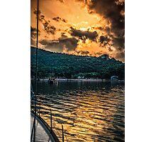 Sunset over Prince island Photographic Print