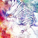 WHITE TIGER by Tammera