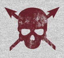 Skull & Arrows by Cattleprod