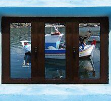 Window into Greece  by Eric Kempson