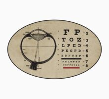 Vintage Ophthalmologist Eye Chart Kids Tee