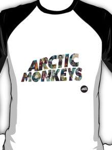 arctic monkeys collage tshirt T-Shirt