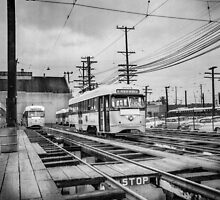 Vintage Streetcar Trolley 1923 by YoPedro