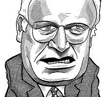 Vice President Dick Cheney by MacKaycartoons
