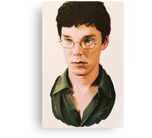 Benedict Cumberbatch digital portait Canvas Print