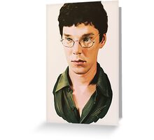 Benedict Cumberbatch digital portait Greeting Card