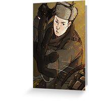 Mycroft is a badass Greeting Card
