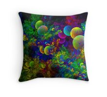 Bubbling Corals Throw Pillow