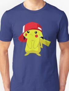Pika Wearing Hat (Pokemon Pikachu) T-Shirt
