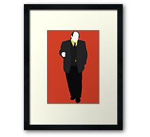 Great Detectives - Nero Wolfe Framed Print