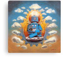 Buddha Bot v5 Canvas Print