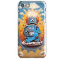 Buddha Bot v5 iPhone Case/Skin