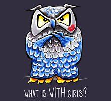 Grumpy Owl Kissed {bold} Unisex T-Shirt