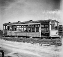 Vintage Streetcar Trolley 1925 by YoPedro
