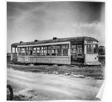 Vintage Streetcar Trolley 1925 Poster