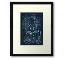 Defender of the Deep Framed Print