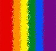 Smartphone Case - Rainbow Flag 6 by Mark Podger