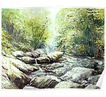 Jiangshan Creek Bed Poster
