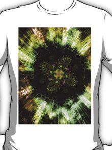 Cosmic Solar Flower Fern Flare T-Shirt