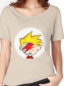 Calvin Hobbes Stardust Women's Relaxed Fit T-Shirt
