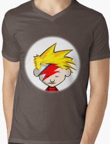 Calvin Hobbes Stardust Mens V-Neck T-Shirt