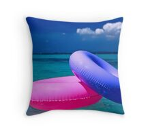 Floats-Puerto Rico Throw Pillow