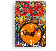 Clock Hamdi Canvas Print