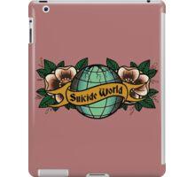 suicide world iPad Case/Skin