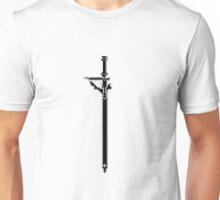 Pixel Series - Kirito's sword Elucidator (FLIPPED) Unisex T-Shirt