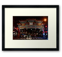 Friendship Arch - Washington D.C. Framed Print