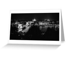 The View from Buda Castle Greeting Card