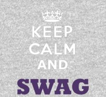 keep calm and swag Kids Clothes