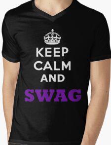 keep calm and swag Mens V-Neck T-Shirt
